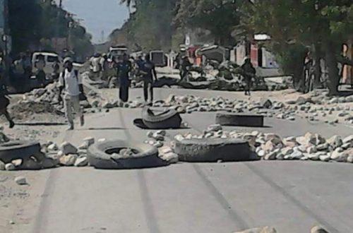 Article : Haïti/grève: la capitale est assommée par la panique