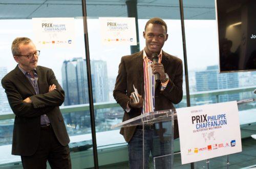Article : Juno Jean Baptiste, prix Philippe Chaffanjon 2015, une étoile montante dans la presse haïtienne